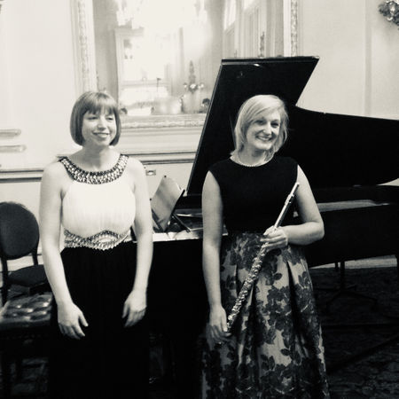 Holly Cook (flute) and Helen Nicholas (piano) Recital at the Royal Opera House Crush Room, September 2015
