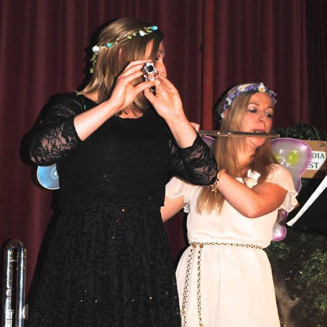 Holly Cook and Abigail Burrows – 'Fifes and Fairytales' – Toynbee Hall, February 2015