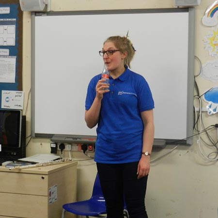 Holly Cook - Workshop at Christchurch School, Brick Lane, London, Concordia Foundation, February 2015