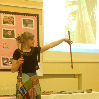 Holly Cook - World Music Day, Emneth Primary School, Norfolk, March 2013