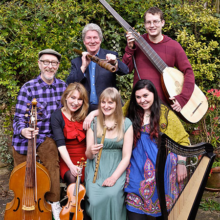 The City Waites – Band for the Beggar's Opera, Regent's Park Open Air Theatre, 2011, Photo by William Skeaping